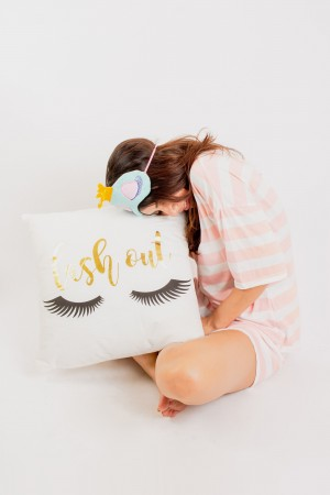 Lash Out Cushion Cover