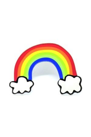 Rainbow Acrylic Brooch