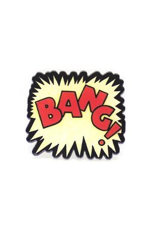 Bang Acrylic Brooch