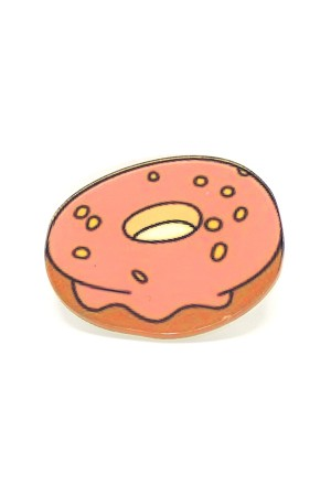 Donut Acrylic Badge