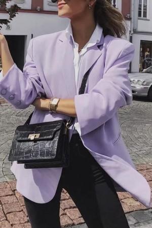 Lilac Blazer Jacket