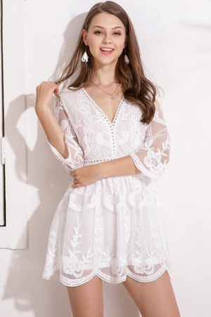 Belle Ame Lace Dress