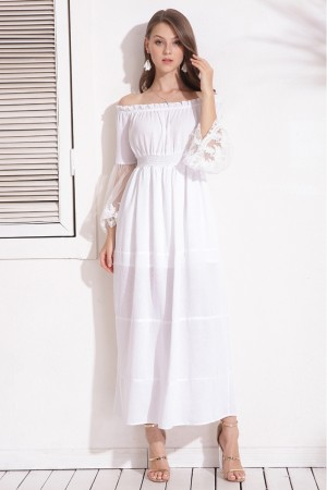 Avelaine Off Shoulder Dress