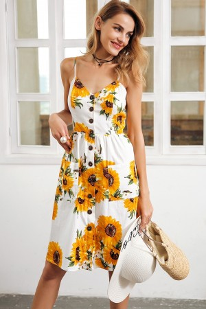 Isidora Sunflower Dress