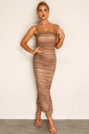 Elilah Dream Ruched Dress