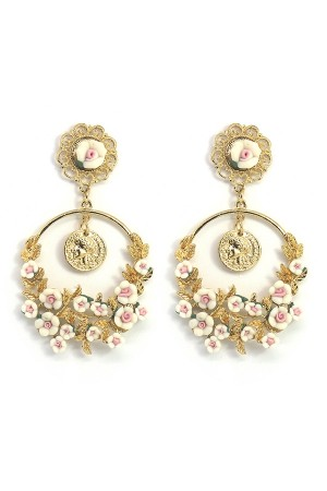 Baroque Fleur Earrings