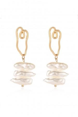 Pearline Vintage Drop Earrings