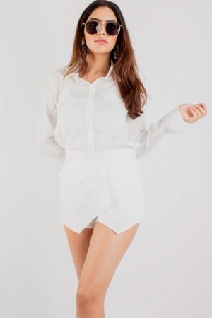Lilah White Shirt