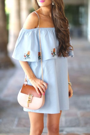 Fleur Ruffle Dress