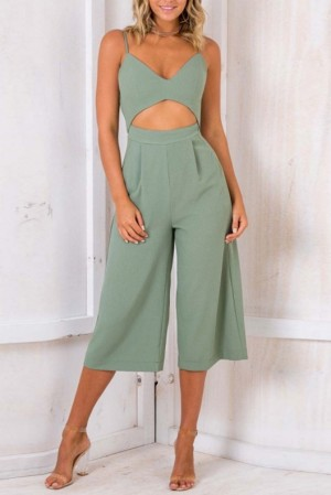 Empress Cropped Jumpsuit