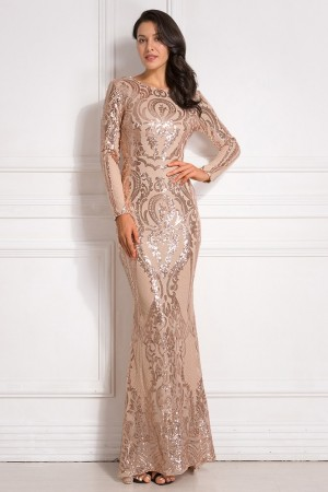 Grace Gold Luxe Gown