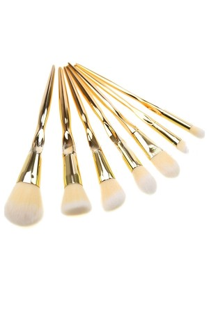 Gold Makeup Brushes