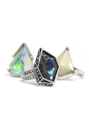 Diamante Azul Rings