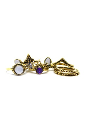 Sirene Rings Set of 8