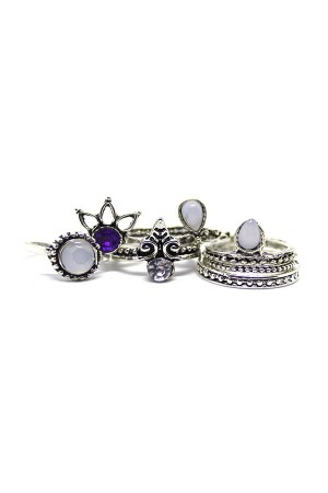 Arian Rings Set of 8