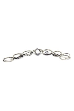Ezust Rings Set of 7