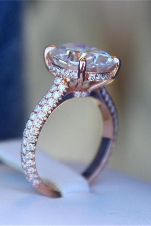 Solitaire Rose Gold Ring