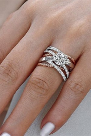 Tale of 2 Diamante Ring