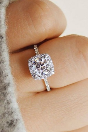 """I do"" Solitaire Ring"