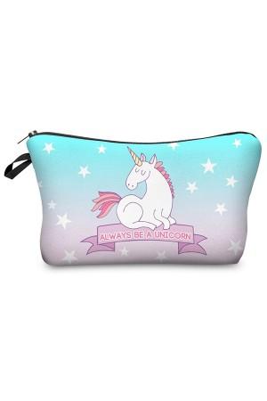 Be a Unicorn Makeup Bag