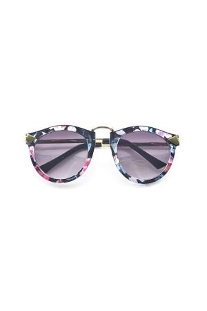 Floral Frame Sunglasses