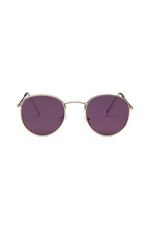 Round Purple Reflectors