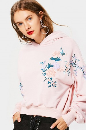 Flore Embroidered Hoodie