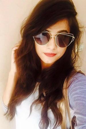 Akanksha - Black Techno Sunglasses