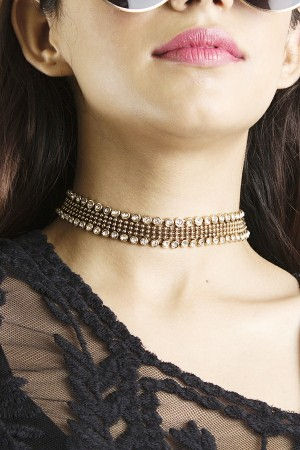 Diamante Bisou Choker
