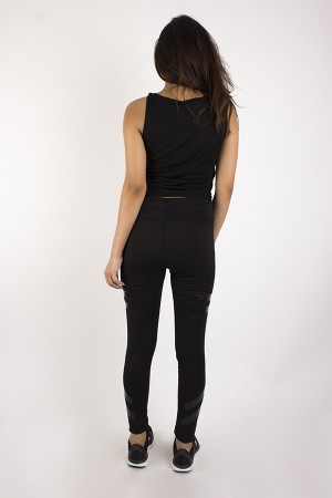 Noir High Waist Leggings