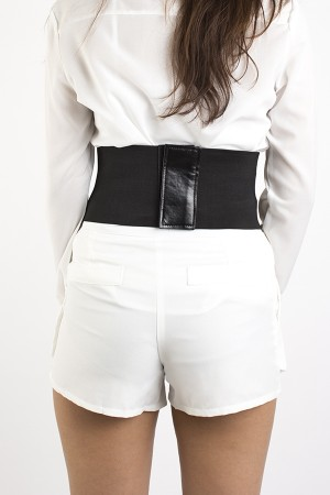 Leather Corset Belt