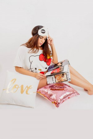 Love & Sequin Cushion Covers