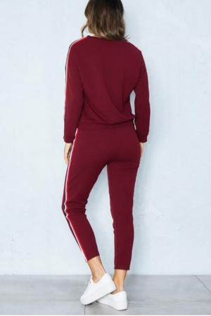 Maria Rouge Sweatpants Set
