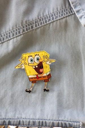 Spongebob Brooch