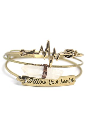 Follow Your Heart Cuff