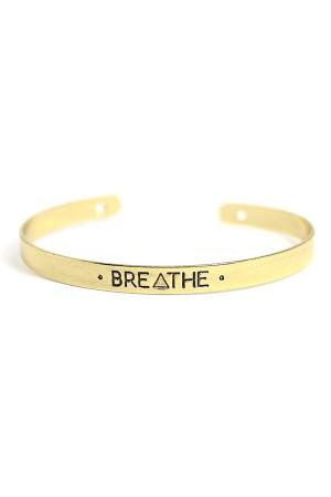 Breathe Cuff Bracelet