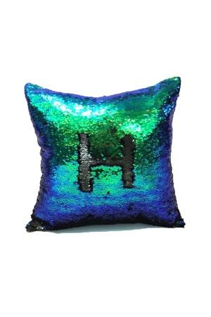 Aqua Mermaid Cushion Cover