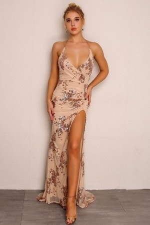 Scintillating Cocktail Gown