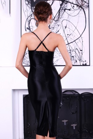 Anastasia Noir Bustier Dress