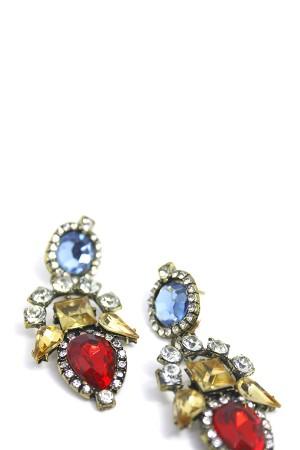 Diamante Drop Earrings