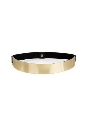 Gold Metallic Belt