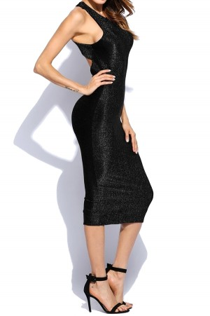 Shimmer Bodycon Dress