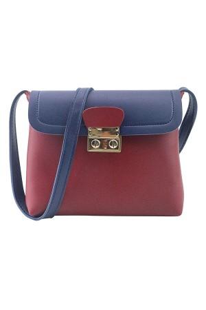 Burgundy Sling Bag