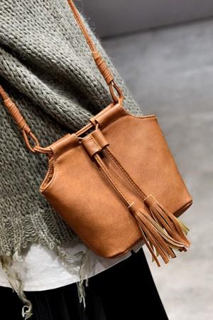 Bucket Tassel Bag