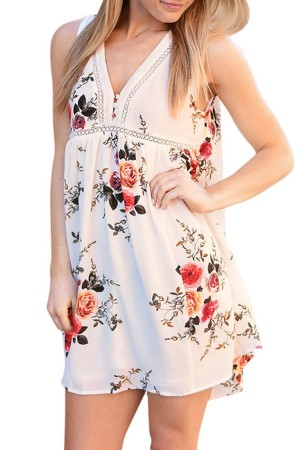 Floral Mini Sundress