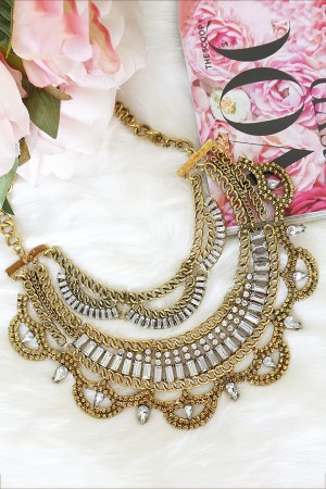 Eclatant Gold Necklace