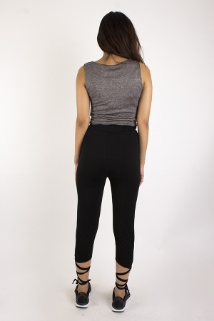 Yoga Lace Up Leggings