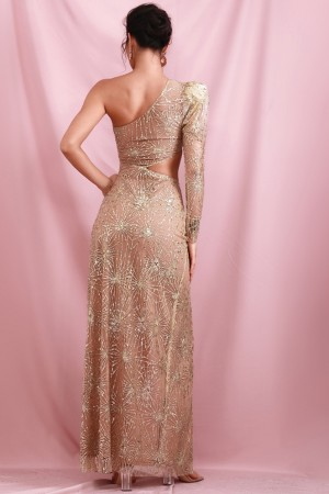 The Golden Girl Luxe Gown