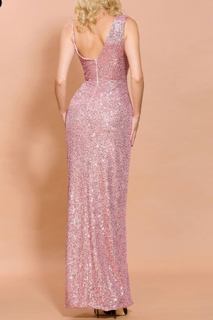 Eleonore Rosé Luxe Gown