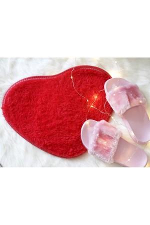 Plush Heart Rug